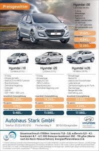 Hyundai Preisgewitter