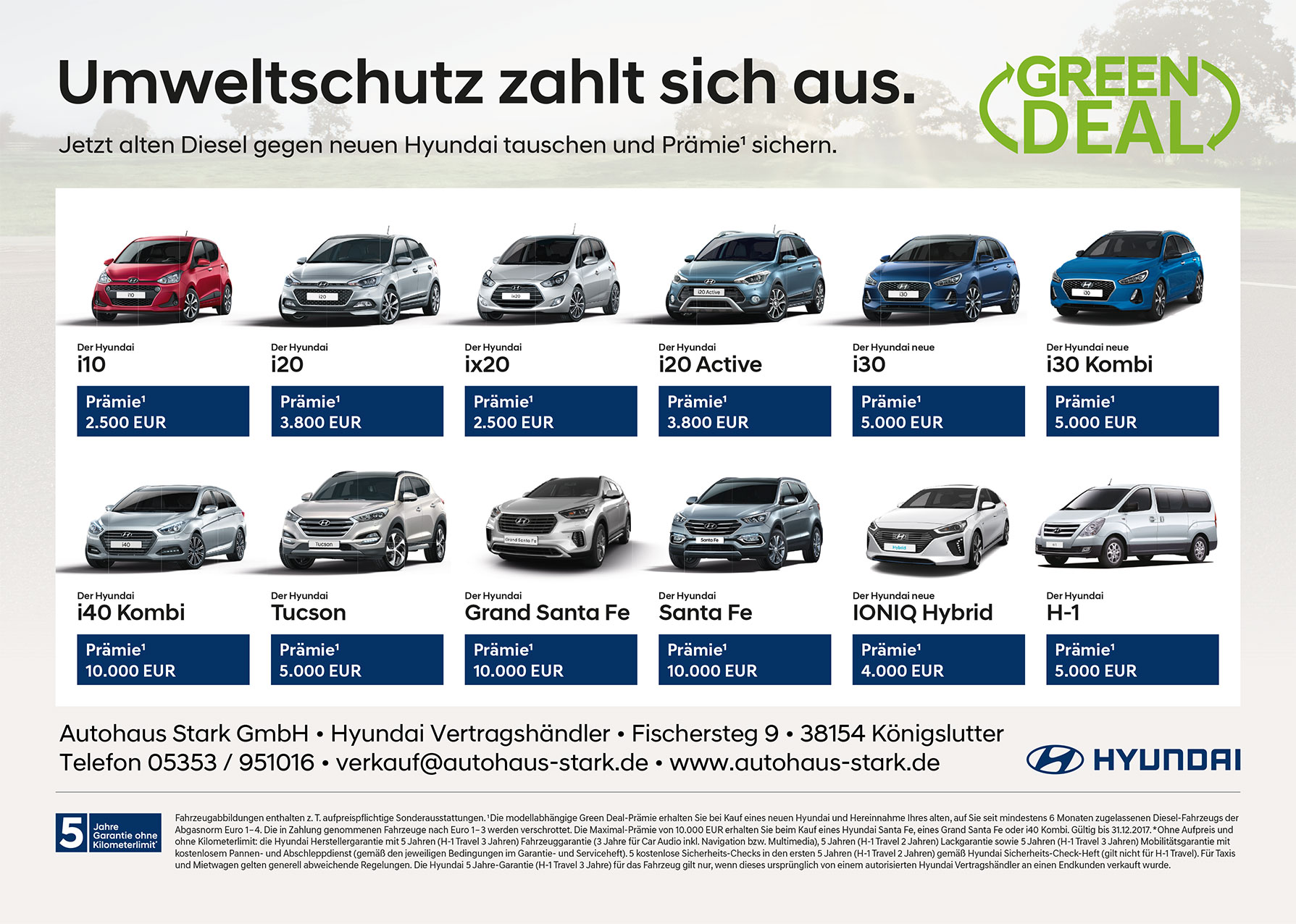 Hyundai Green Deals