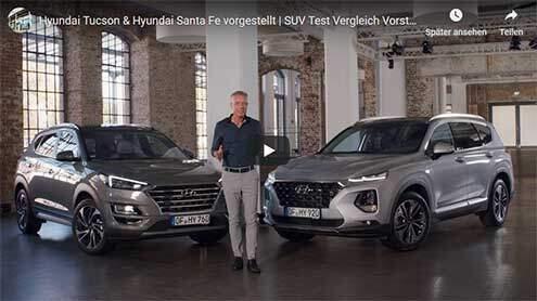 Hyundai Tucson und Santa Fe